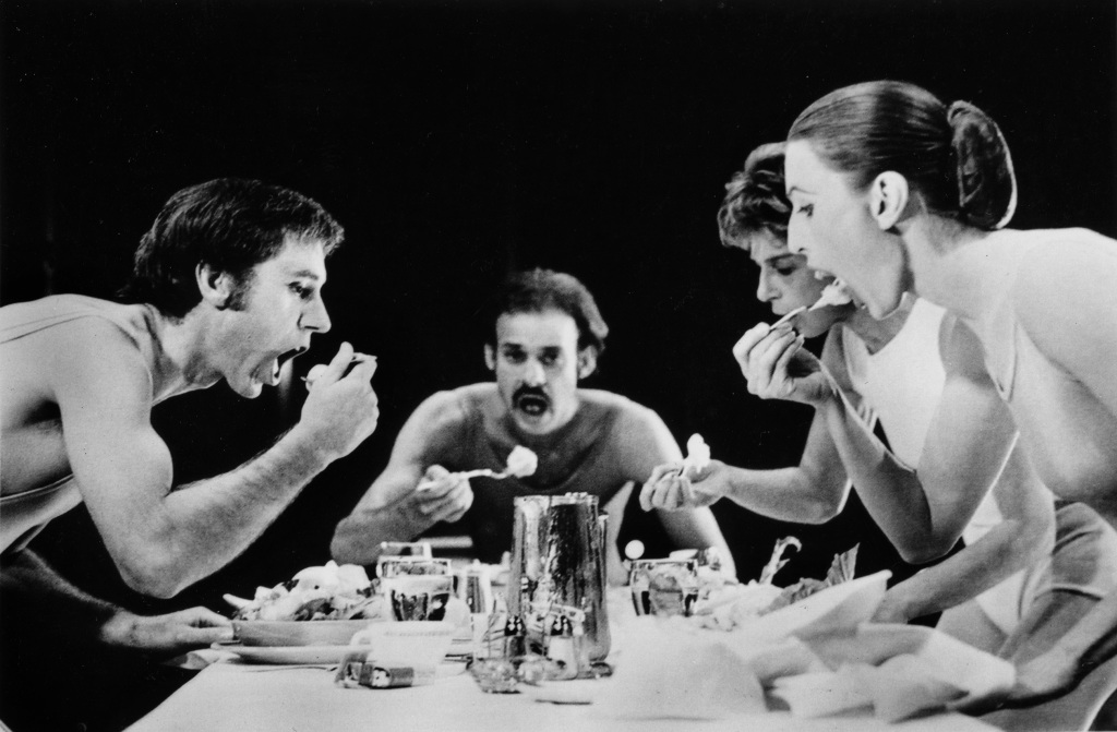 Anna Halprin, Lunch, 1968, Exposition Sounding new : oeuvres de la collection