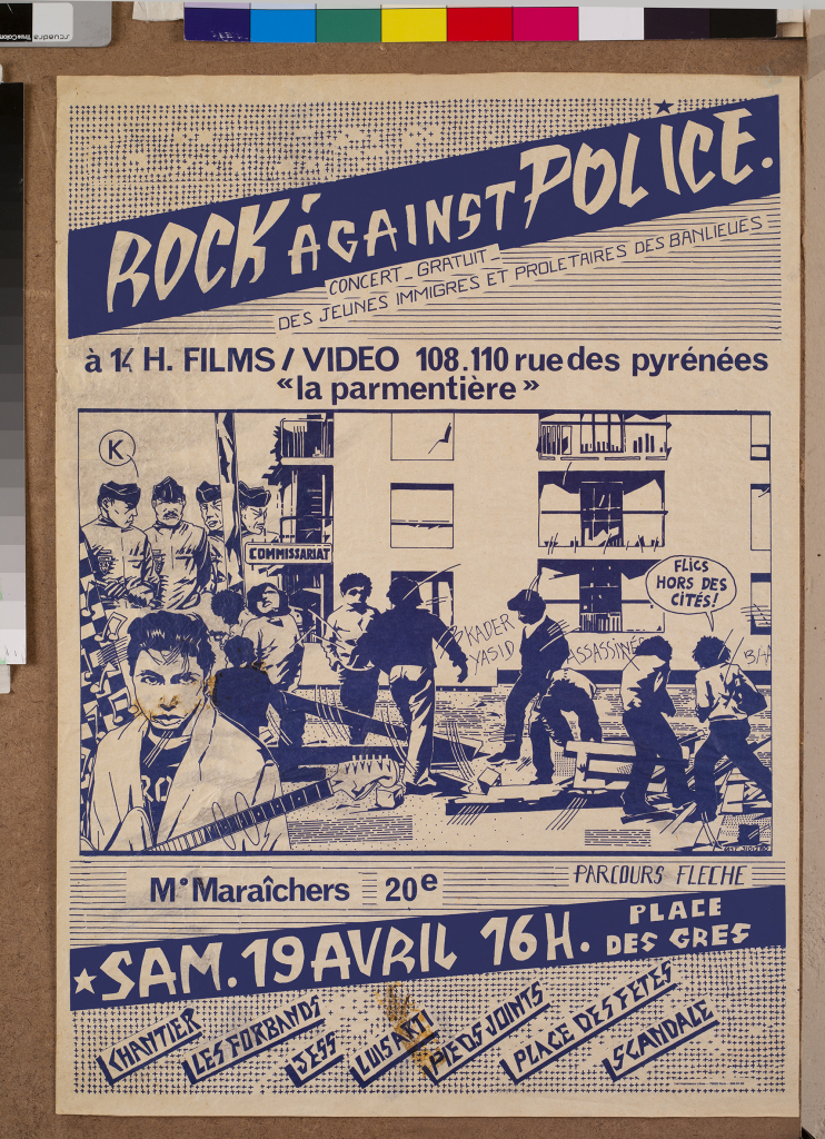 affiche Rock against Police (c) DR