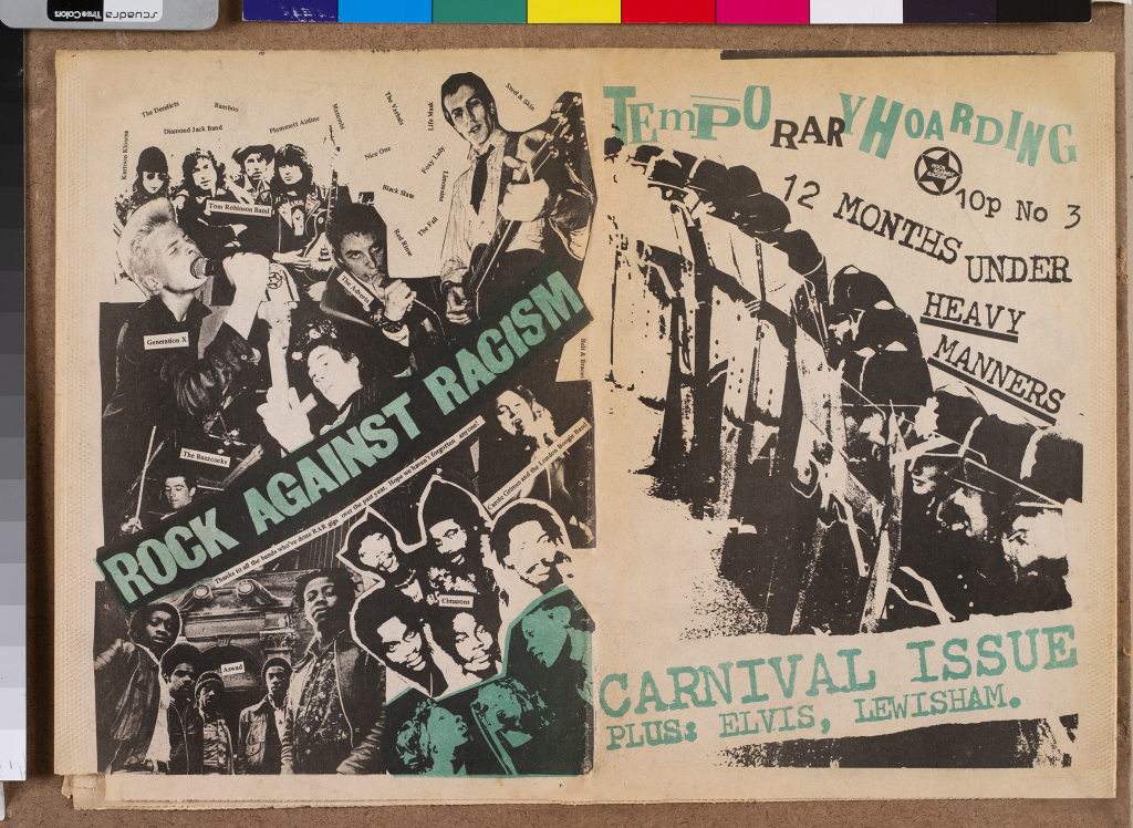 affiche Rock against the racism (c) DR