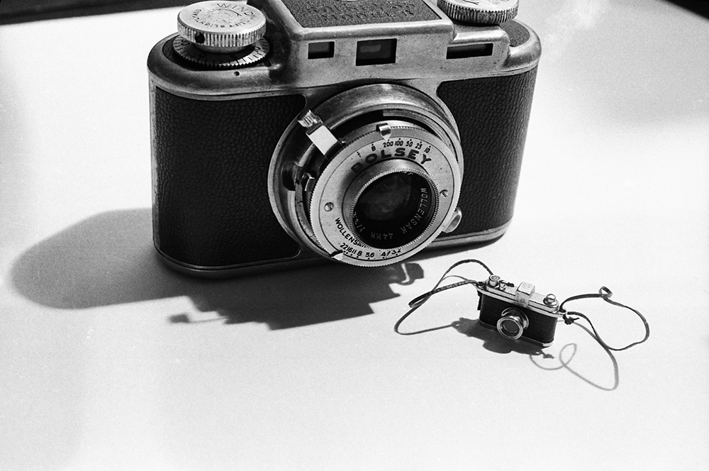 Laurie Simmons, Big Camera, Little Camera, 1976