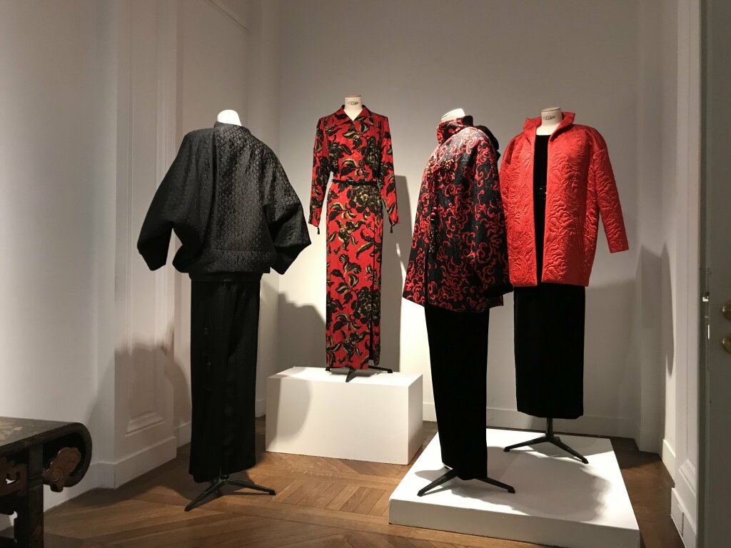 Catherine deneuve vente enchères Yves St Laurent Christies_7119