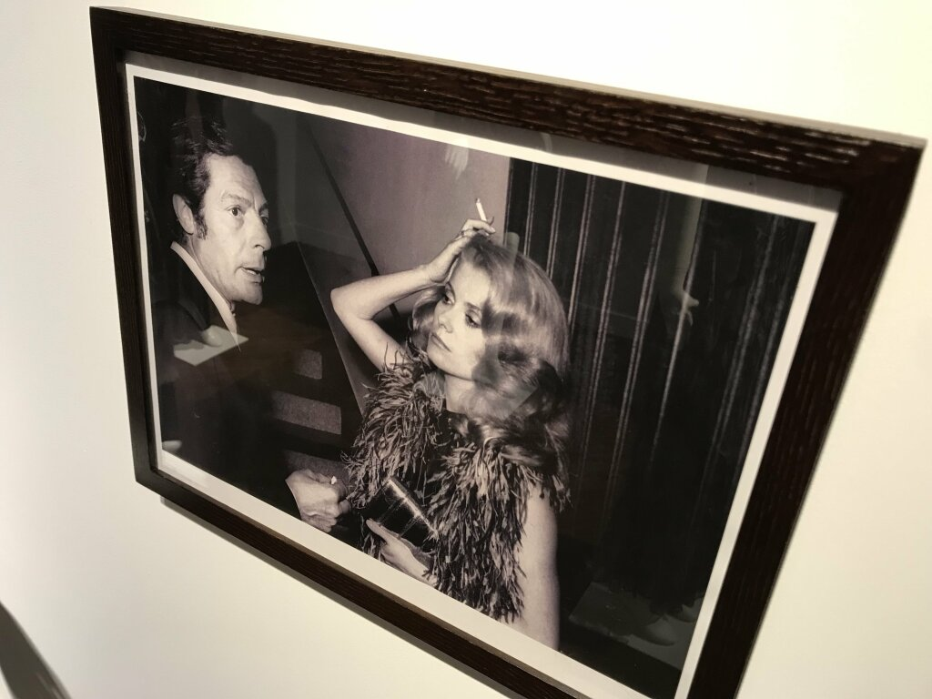 Catherine deneuve vente enchères Yves St Laurent Christies_7137
