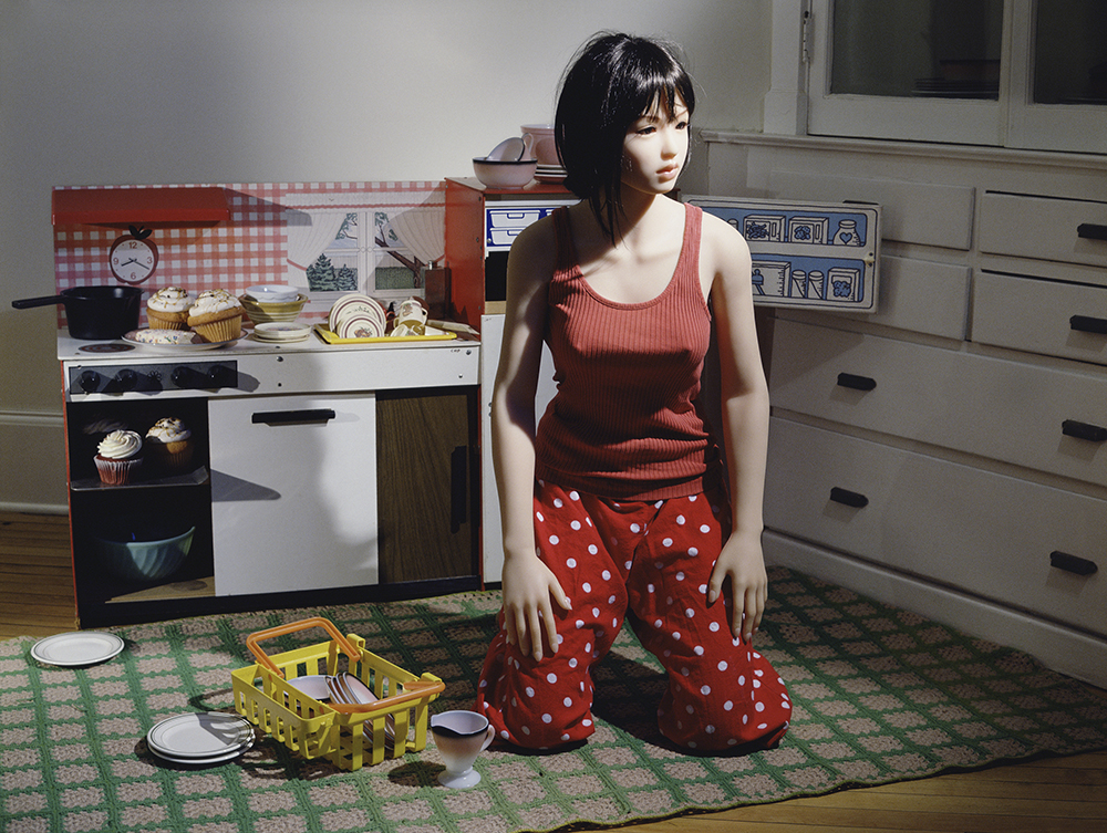 Laurie Simmons, The Love Doll, / Day 23 / ( Kitchen), 2010.