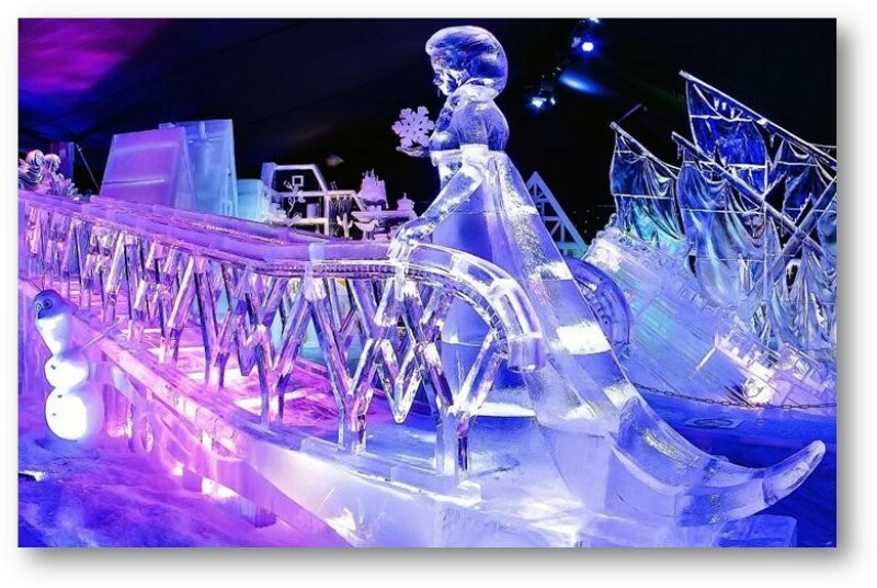 sculpture-glace-reine-des-neiges-disney