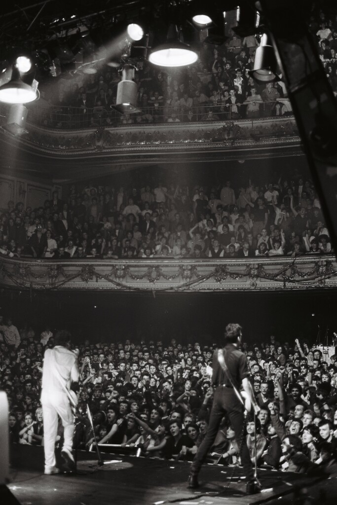 The Clash à Mogador, 1981 Photo Pierre Terrasson