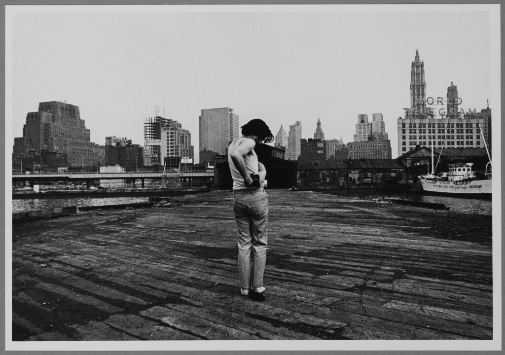 Shunk-KenderPier 18 Dan Graham, New York, hiver 1970-1971