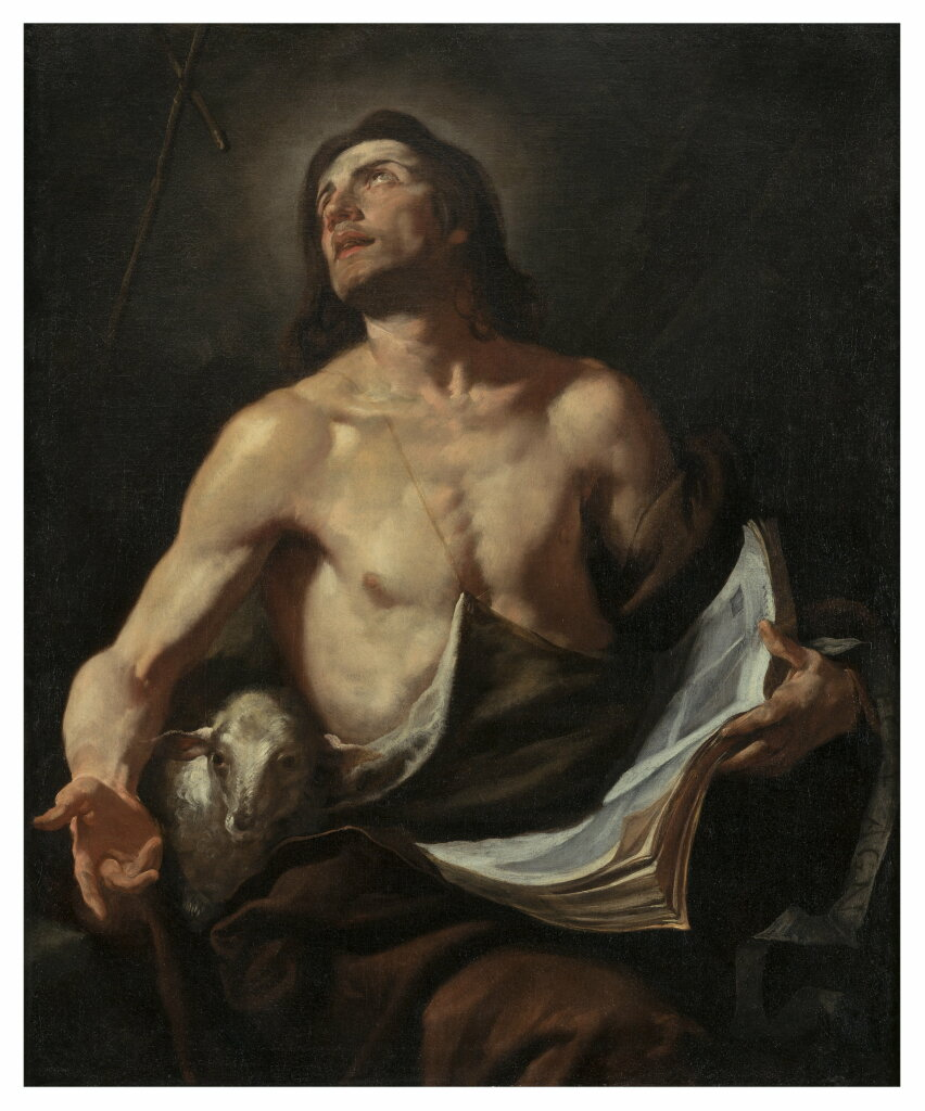 Gioacchino ASSERETO, Saint Jean Baptiste - Fondation Bemberg, Collection Motais de Narbonne