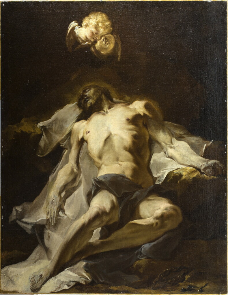 Giuseppe BAZZANI, Le Christ mort pleuré par les anges - Fondation Bemberg, Collection Motais de Narbonne