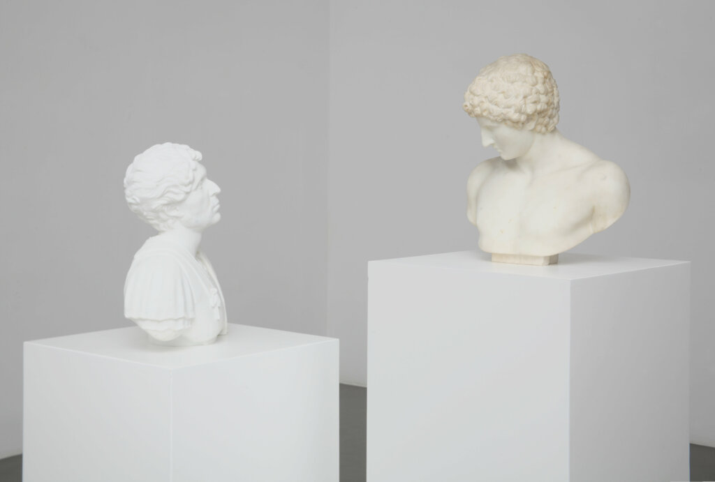 Francesco Vezzoli, Self-Portrait as Emperor Hadrian Loving Antinous, 2012, Francesco Vezzoli - Musée d'Art Contemporain d'Avignon