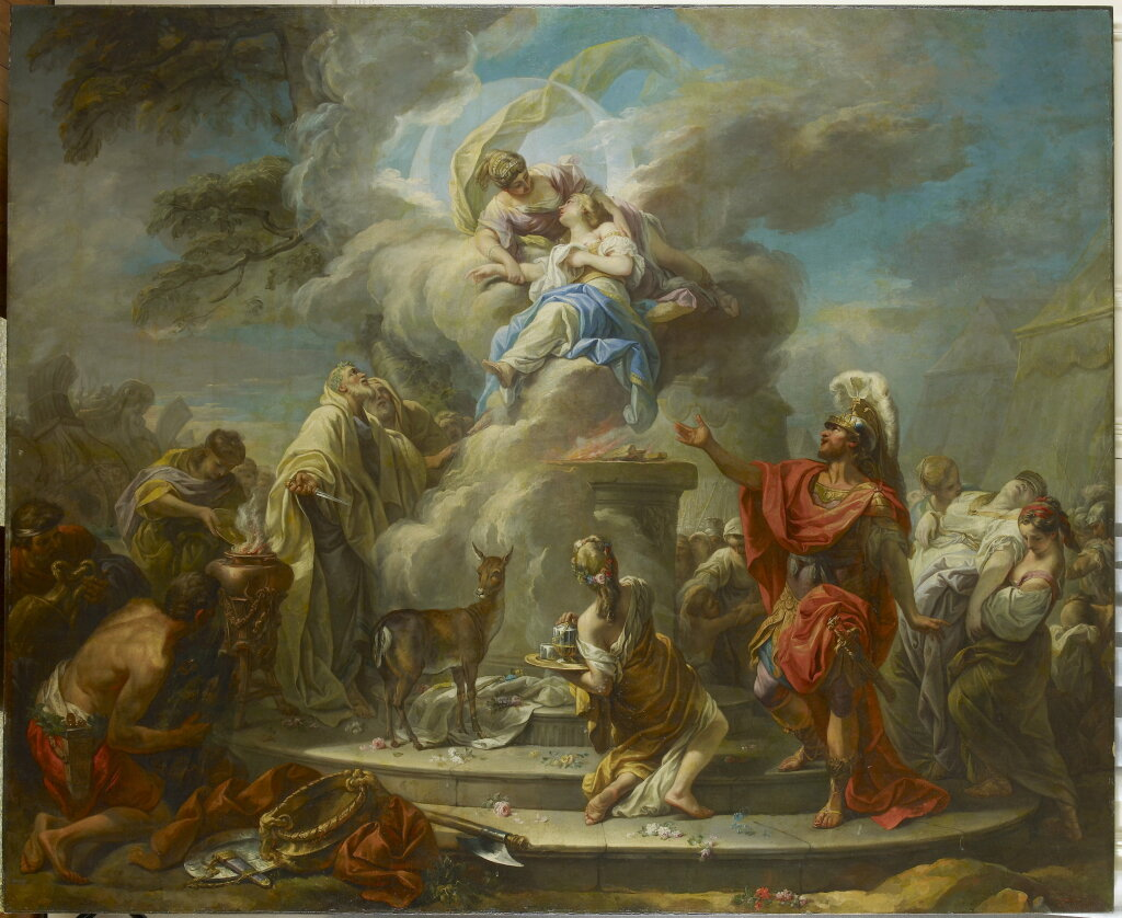 Gabriel Francois Doyen, Le Sacrifice d'Iphigenie - Fondation Bemberg, Collection Motais de Narbonne