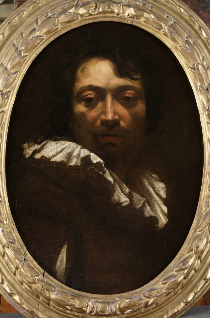 Simon VOUET, Autoportrait - Fondation Bemberg, Collection Motais de Narbonne