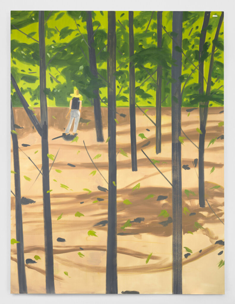Alex Katz. Figure in the Woods, 2016.