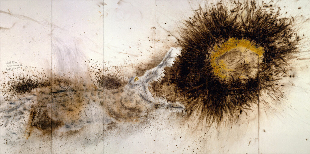 Crocodile and Sun - Cai Guo-Qiang, 2007