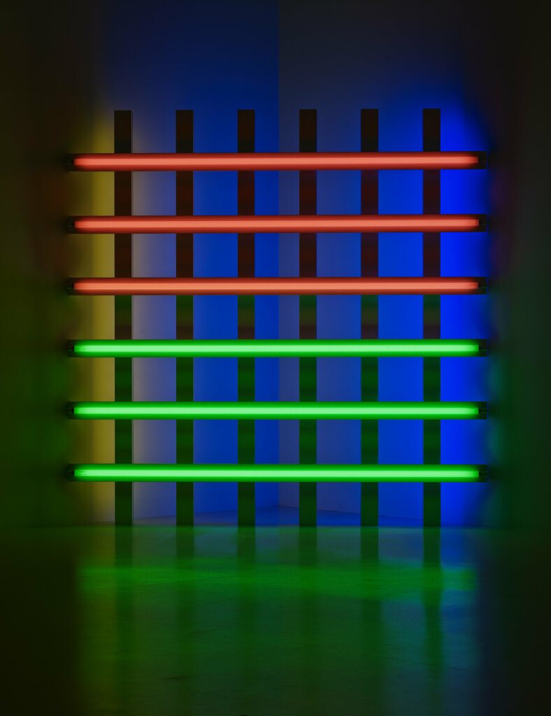 Dan Flavin. Untitled (for you, Leo, in long respect and affection) 1, 1977. Collection Fondation Louis Vuitton, Paris.