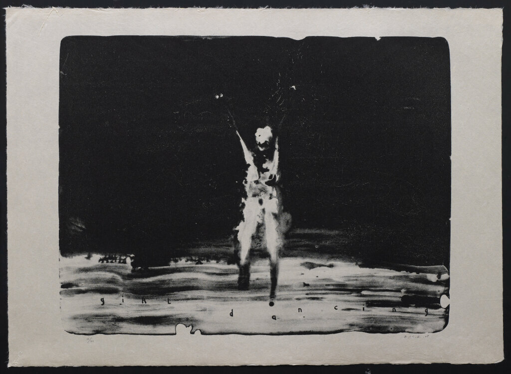 David Lynch, Girl Dancing, 2008