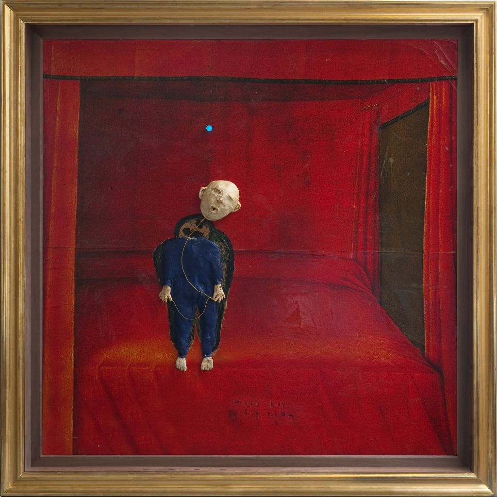 David Lynch, Small Boy In His Room, 2009