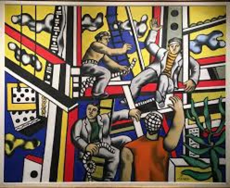 Fernand Léger, Builders with Aloe