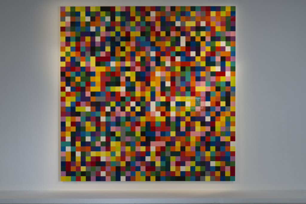 Gerhard Richter. 4900 Farben, 2007. Collection de la Fondation Louis Vuitton Paris.