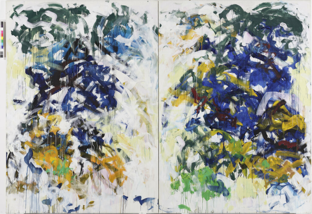Joan Mitchell. Beauvais, 1986. Collection de la Fondation Louis Vuitton, Paris.