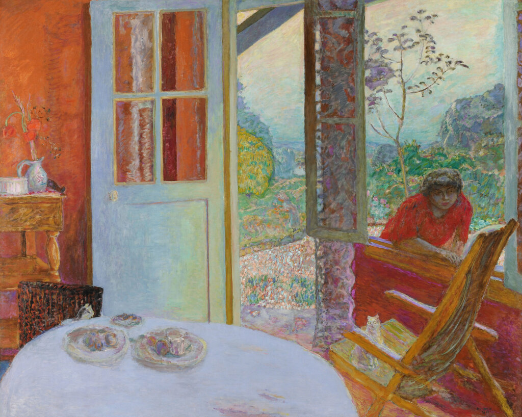 Pierre-Bonnard,-Dining-Room-in-the-Country,-1913