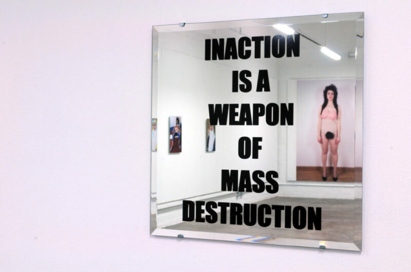 Sarah Maple, Inaction (2012).