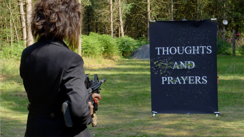 Sarah Maple, Thoughts and Prayers, still.