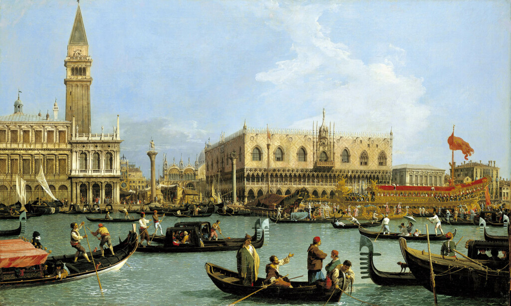Canaletto, The Bacino di San Marco on Ascension Day