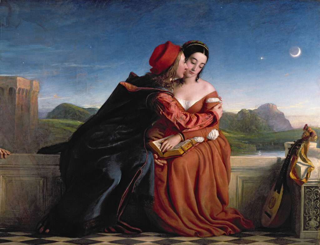 William Dyce, Francesca da Rimini,