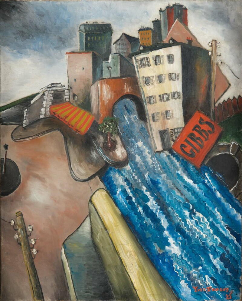 Le Pont, Yves Tanguy, 1925