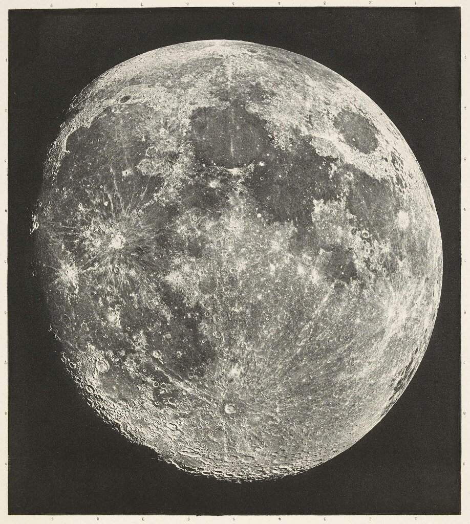 Atlas photographique de la lune