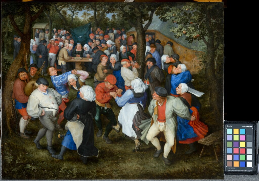 JAN I BRUEGHEL L'ANCIEN Danse de noces