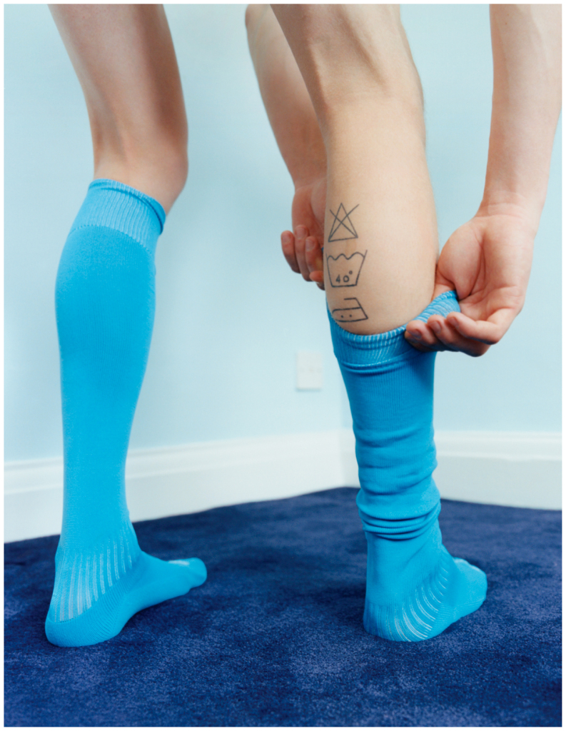 CC01 Boy in Socks, 2017© Coco Capitán, courtesy of the artist