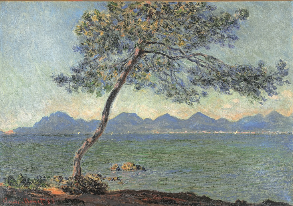 Claude Monet Au cap d'Antibes, 1888