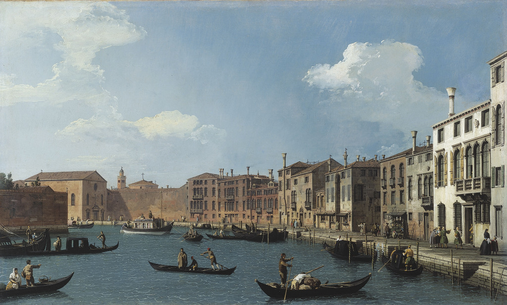 Canaletto, Canal
