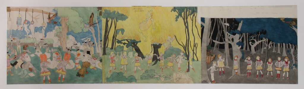Henry Darger (American, 1892-1973). Untitled