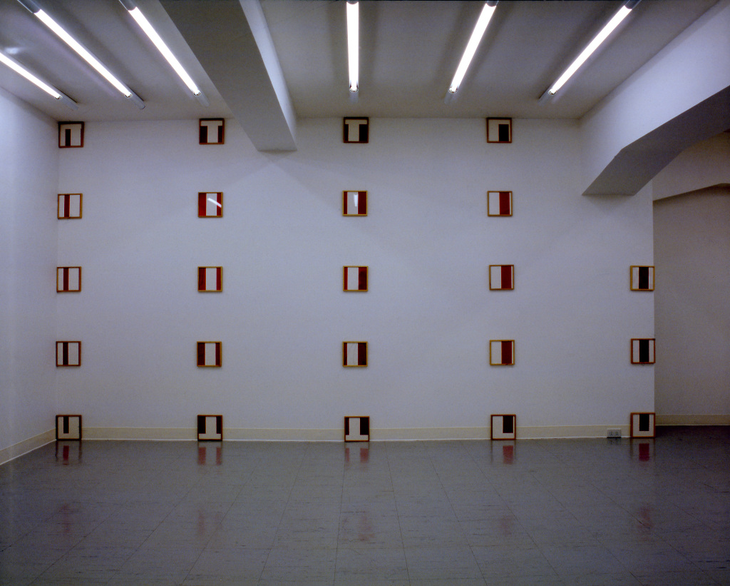Daniel Buren (1938) Framed/Exploded/Defaced, 1979