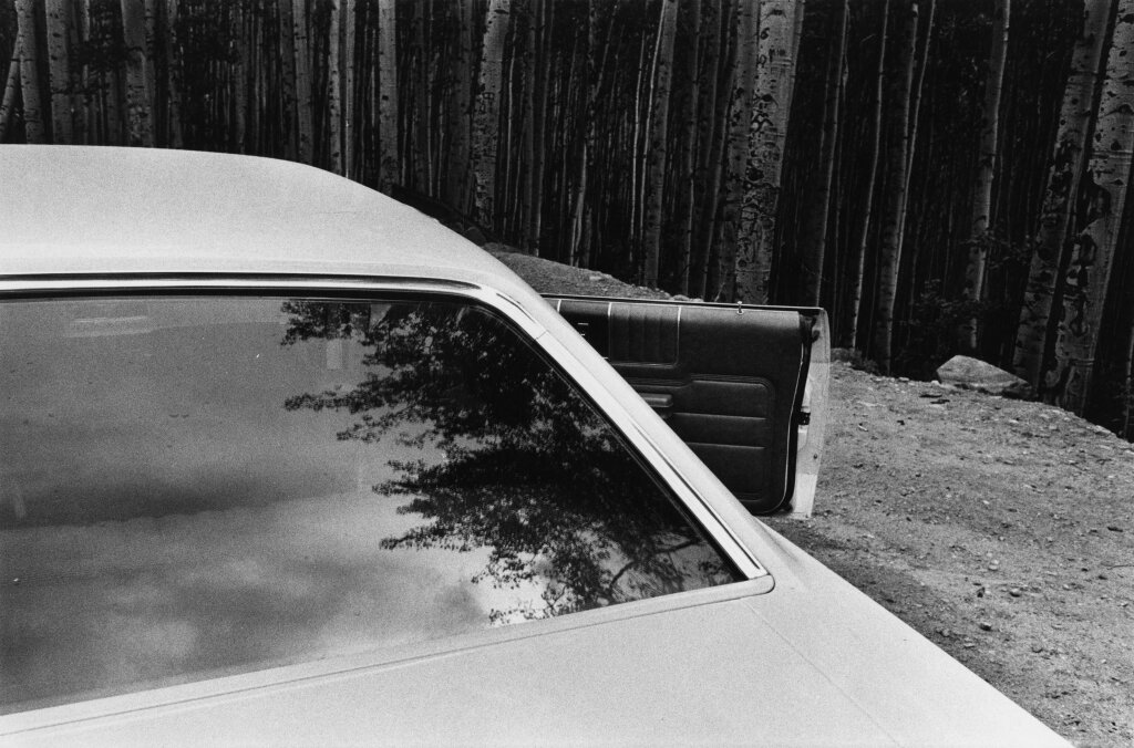 Charles Harbutt Car, Aspen, Colorado, 1971
