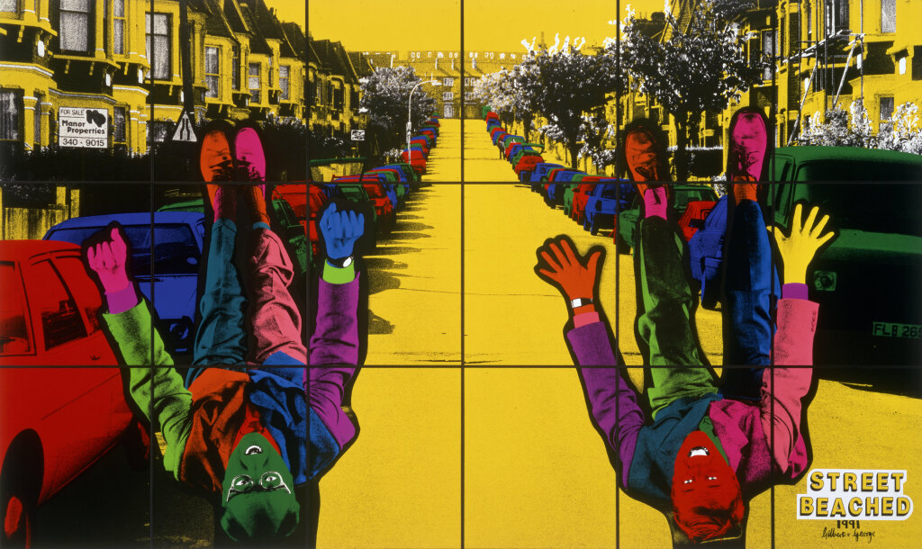 Gilbert & George Street Beached, 1991