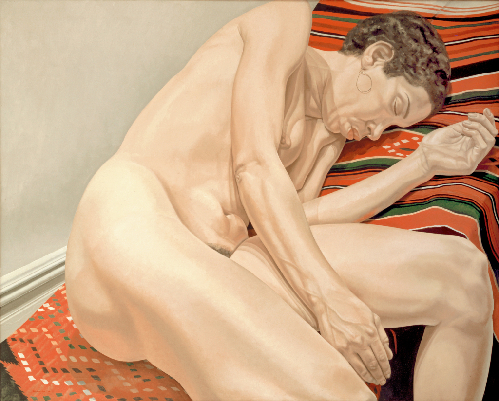 PEARLSTEIN_ Female Model Reclining_1974