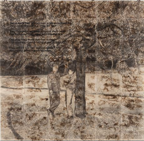 Gilbert &George, There were two young men, 1971
