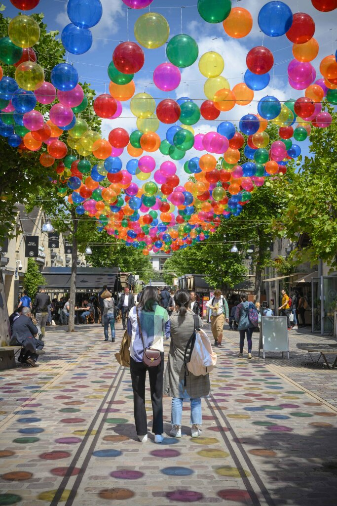 Bercy Village - Bubble Sky
