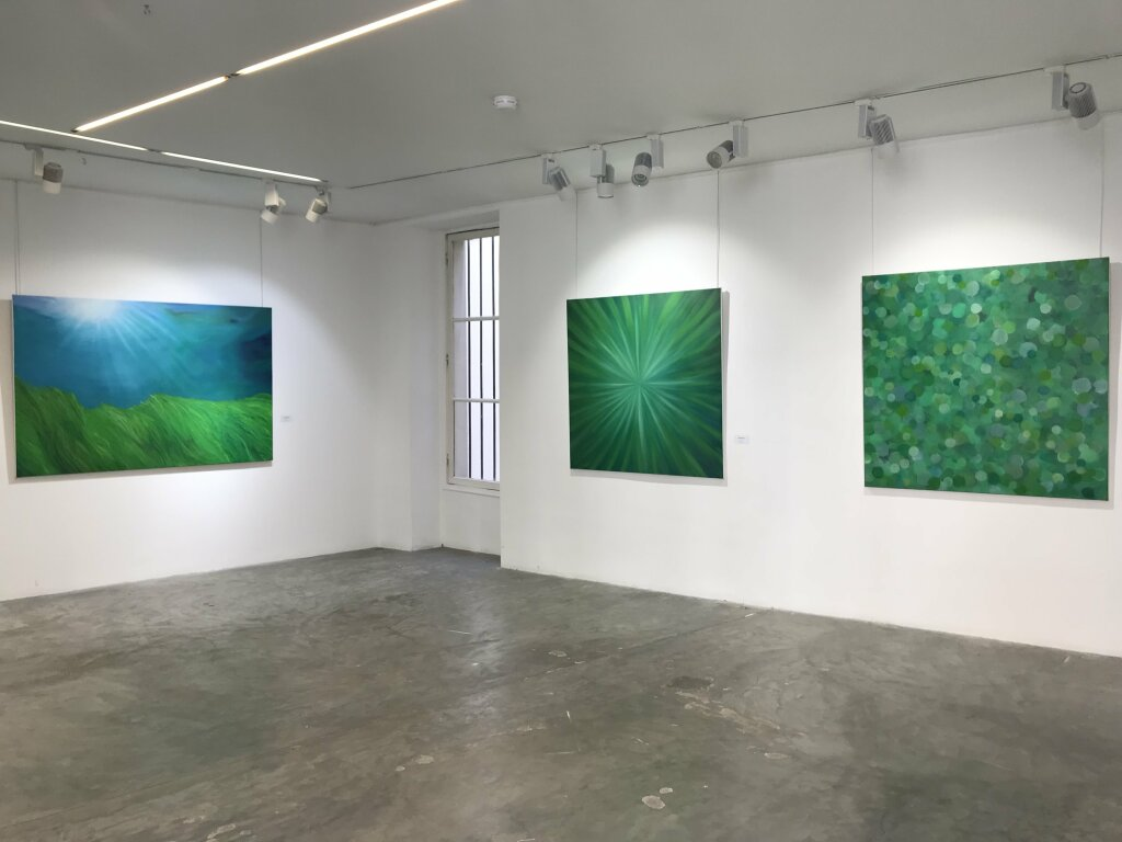 Vue de l'exposition, Laurel Holloman, Galerie Joseph, Paris