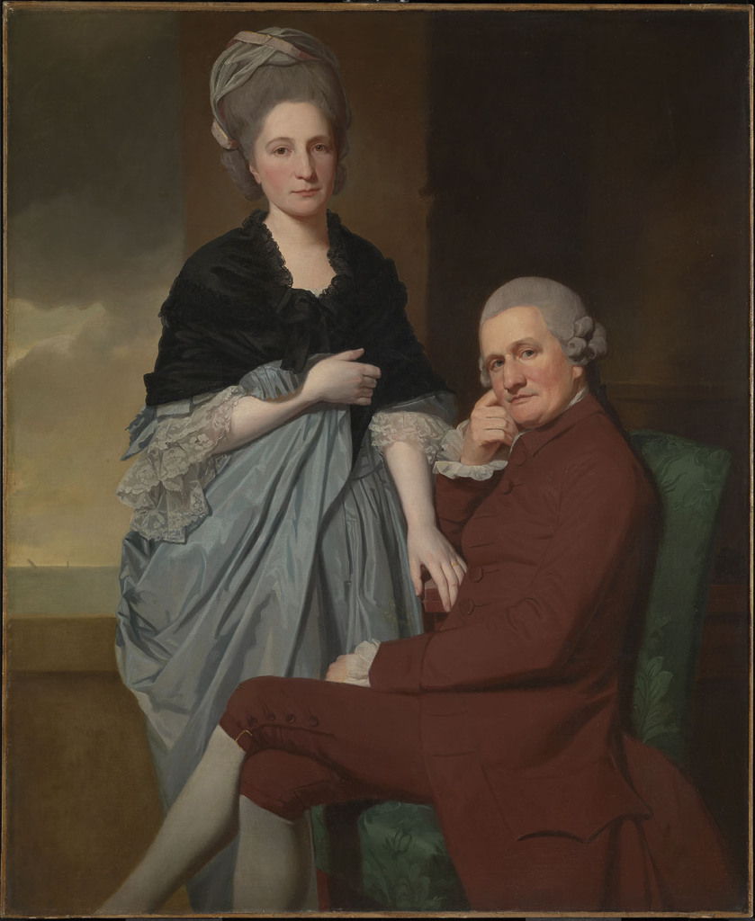 72- George Romney, Mr and Mrs