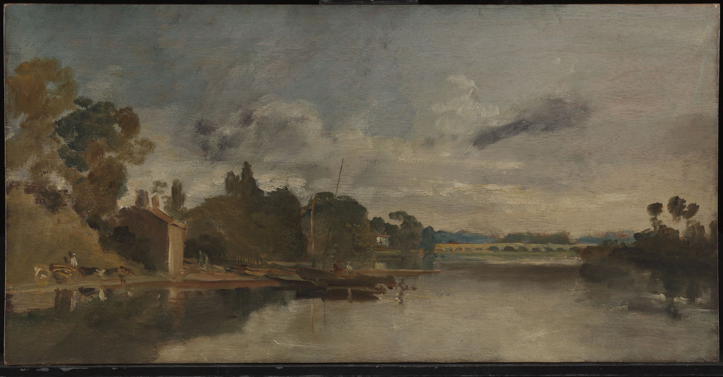 Turner, The Thames near Walton Bridge, N02680