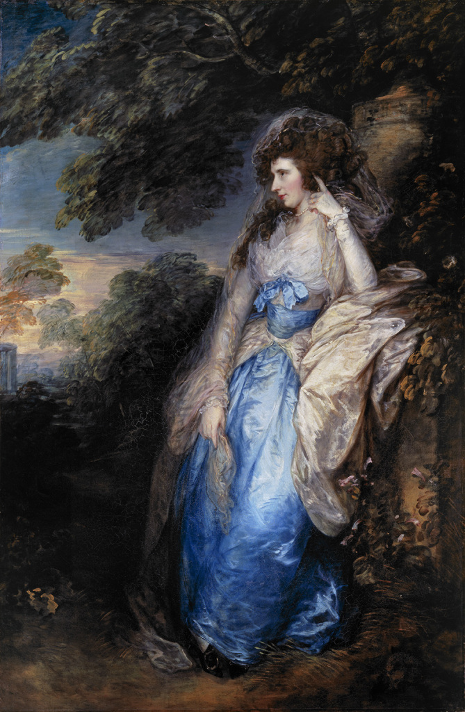 Lady Bate Dudley c.1787Oil on canvas Dimensions: support: 2210 x 1450 mm