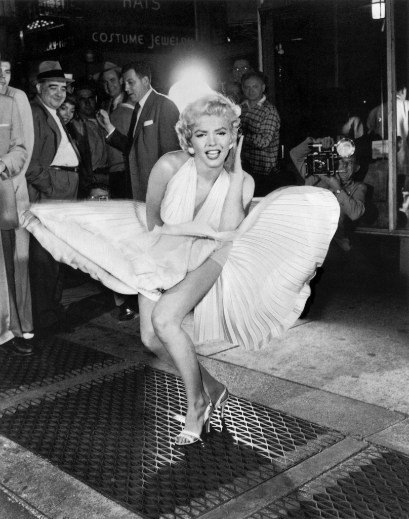 "Marilyn Monroe's Flying Skirt From ""The Seven Year Itch"""