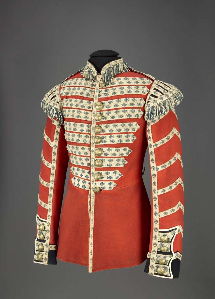 Habit rouge de tambour des Coldstream Guards