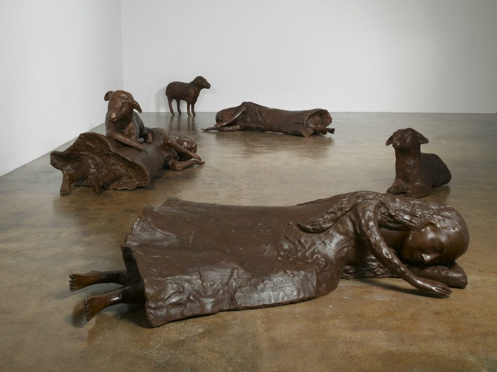 Women with Sheep (Three Women, Three Sheep), 2009