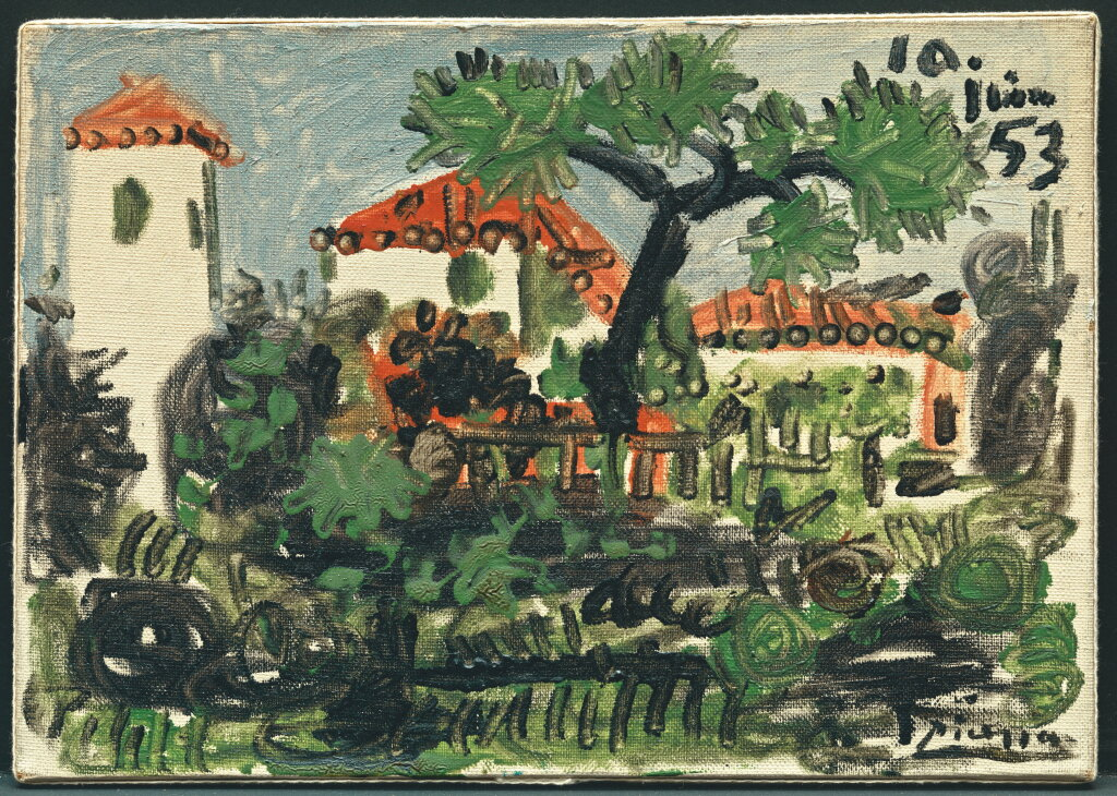 Pablo Picasso, Jardin a vallauris