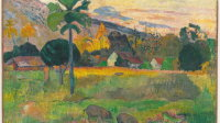 Paul Gauguin Haere Mai 1891 Oil on burlap 28 1/2 x 36 inches (72.4 x 91.4 cm) Solomon R. Guggenheim Museum, New York Thannhauser Collection, Gift, Justin K. Thannhauser, 1978 78.2514.16 Painting Post-Impressionism Primitivism Symbolism